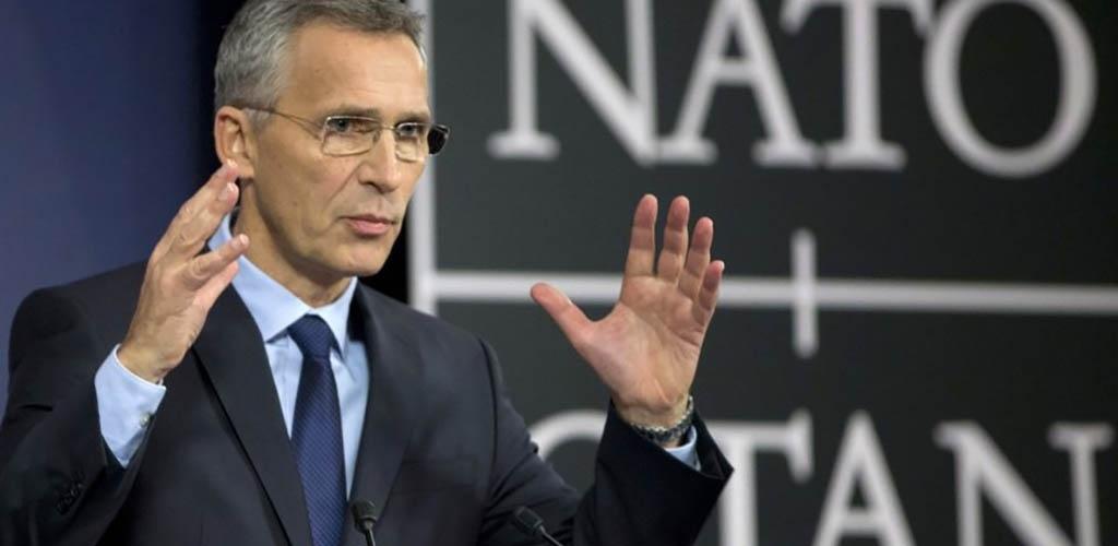 NATO neplanuoja didinti karinio buvimo Baltijos šalyse, sako Stoltenbergas