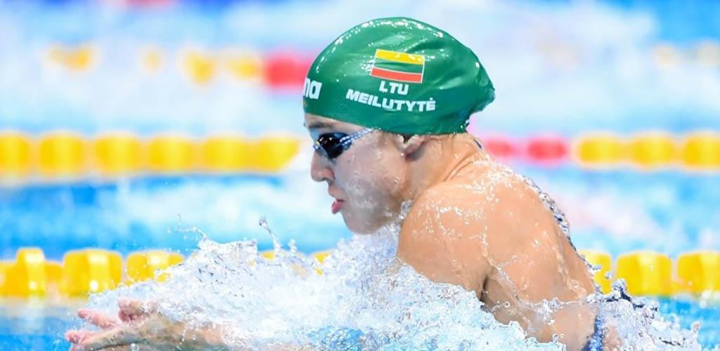 Dar greičiau plaukusi Rūta Meilutytė Brazilijoje nuskynė aukso medalį