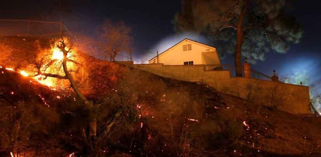 Per miško gaisrą Kalifornijoje žuvusių žmonių skaičius padidėjo iki 77