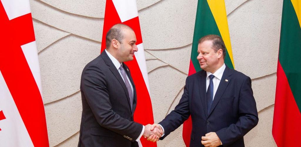 Lietuva ir Gruzija norėtų sustiprinti ekonominius ryšius