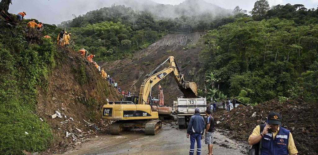 Kolumbijoje nuslinkusios nuošliaužos aukų padaugėjo iki 28