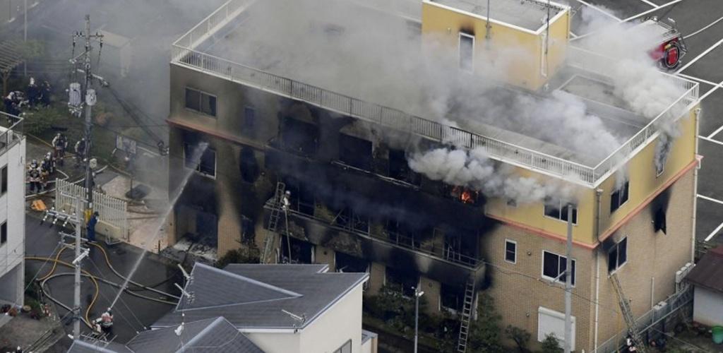 Japonijoje įtariamo padegimo animacijos studijoje aukų padaugėjo iki 24