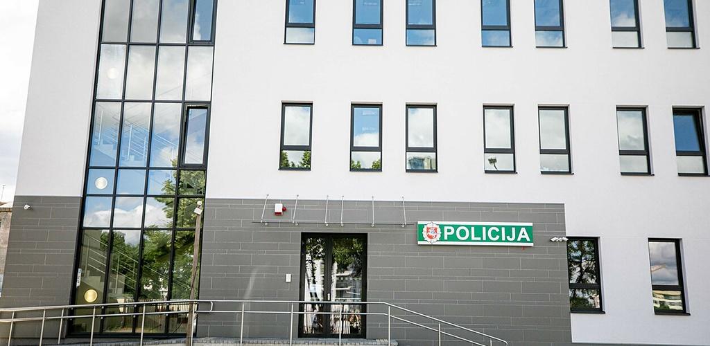 Vilniuje atidaryta nauja policijos areštinė