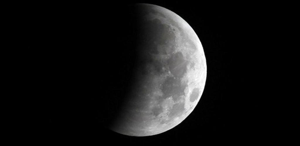 """Misijos """"Apollo 11"""" pradžios 50-metį žymės dalinis Mėnulio užtemimas"""