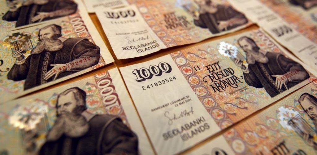 Mažeikiuose pagrobta 350 tūkst. Islandijos kronų