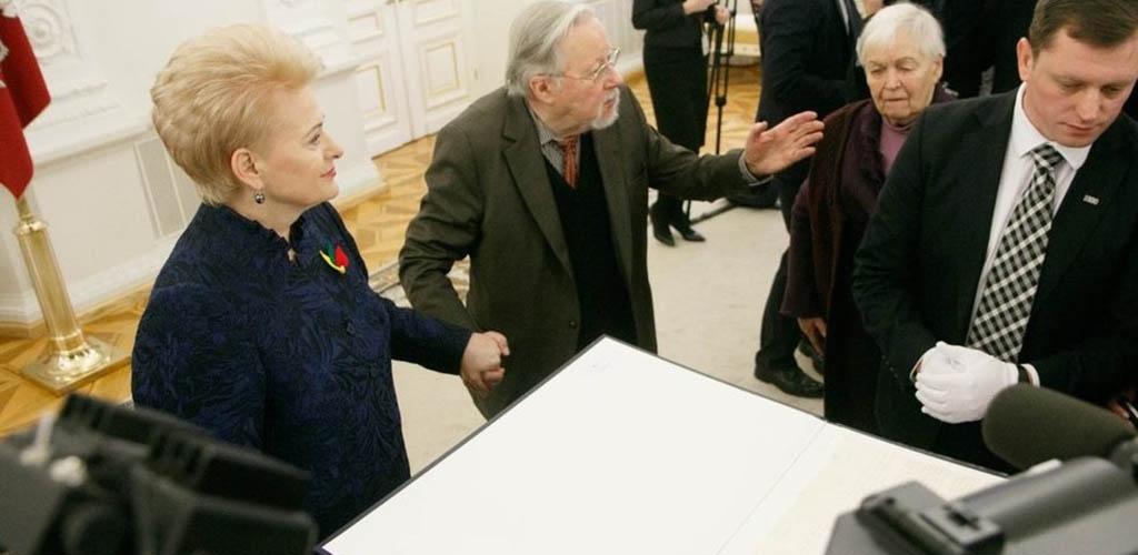 Vokietija Lietuvai perdavė Vasario 16-osios aktą