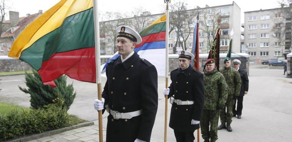 Lietuvoje švenčiama kariuomenės diena