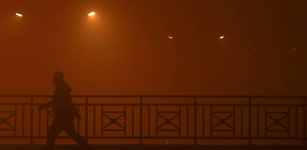 Makedonijos sostinė dūsta nuo užteršto oro