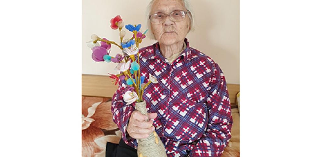 99-ių metų Marijona pretenduoja tapti tvariausiai gyvenančia Lietuvos senjore