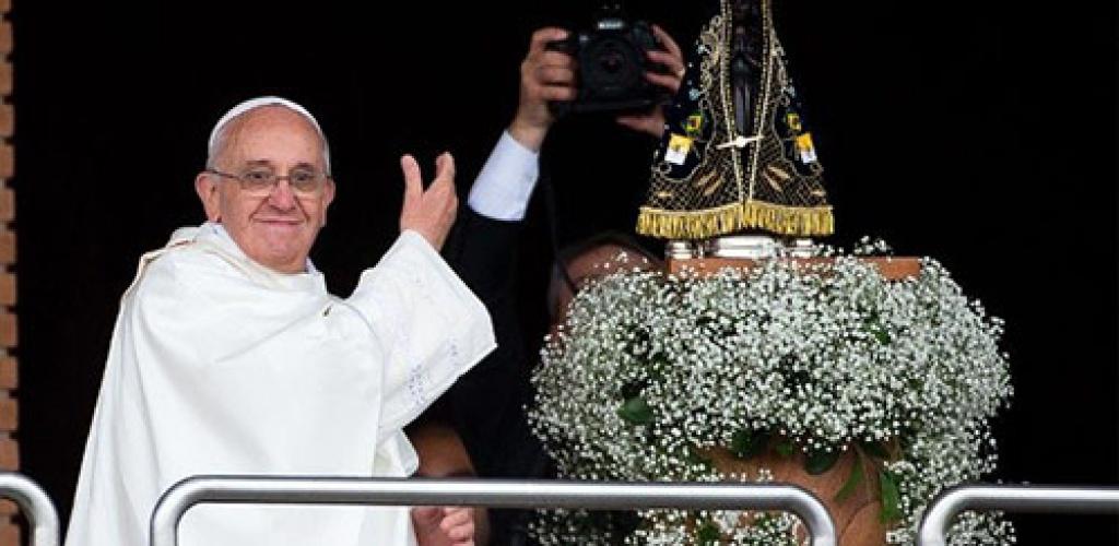 Popiežius Brazilijos vyskupams: padėkite žmonėms išsaugoti santaiką