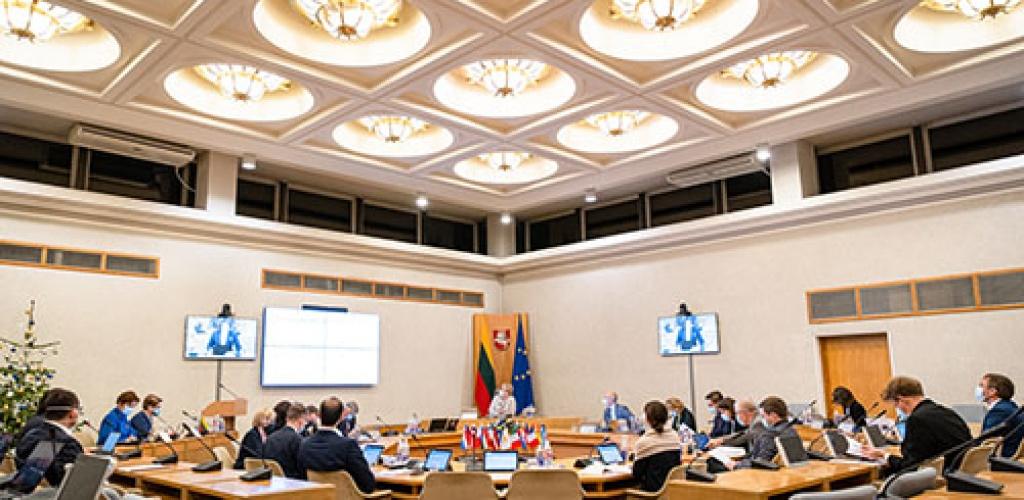 46 proc. gyventojų yra patenkinti I. Šimonytės Vyriausybės darbu –apklausa