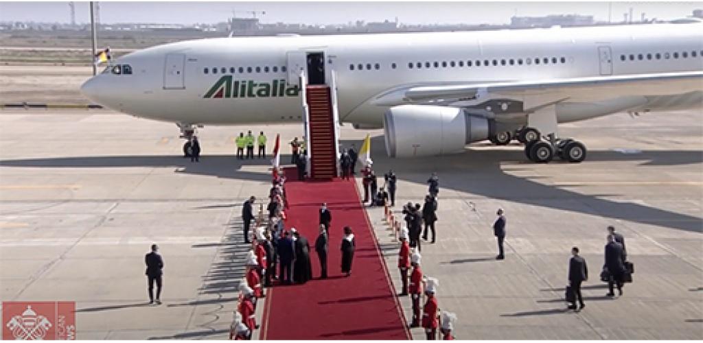 """Iranas: popiežiaus vizitas Irake buvo """"geras ir konstruktyvus"""""""
