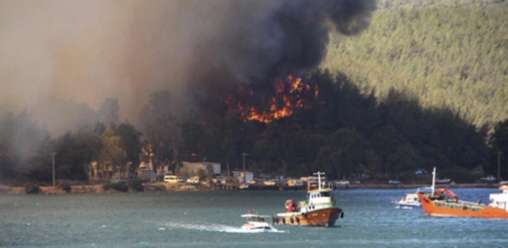 Turkijos pietuose tebesiaučiant dideliems gaisrams aukų padaugėjo iki keturių