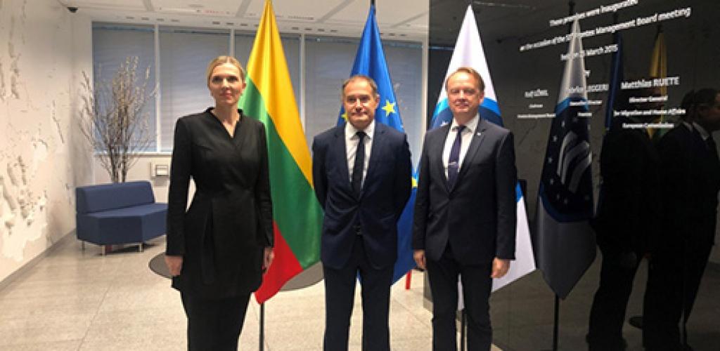 Vidaus reikalų ministrė: Lietuva nėra viena prieš šį geopolitinį iššūkį