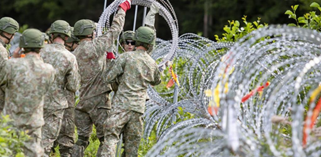 VESK: siūloma kariuomenės įgaliojimus pasienyje pratęsti trims mėnesiams