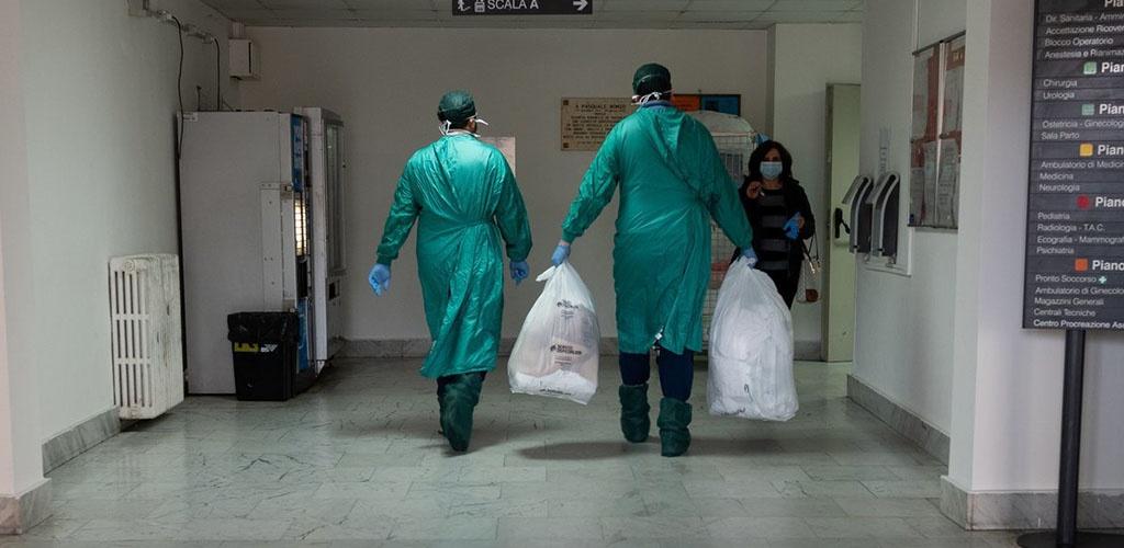 Pasaulyje – jau daugiau kaip 60 tūkst. koronaviruso pandemijos aukų