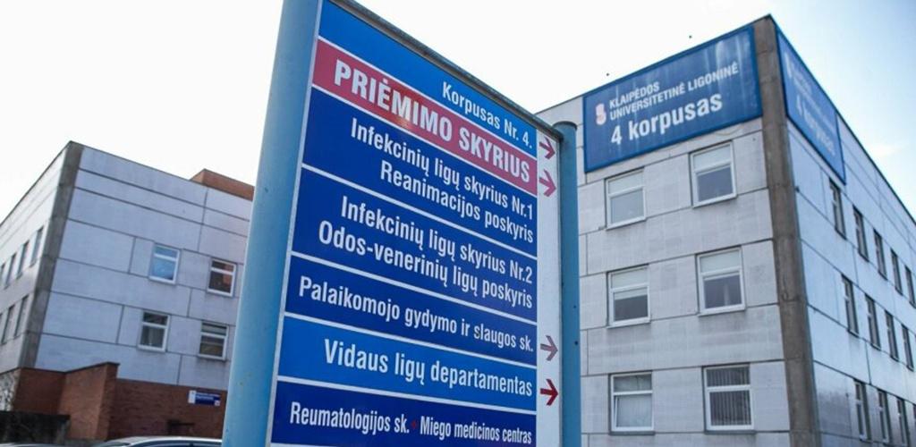 Lietuvoje koronavirusu užsikrėtęs 61 medikas