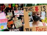 """G. Thunberg Davose pareiškė, kad """"nieko nebuvo padaryta"""" dėl kovos su klimato kaita"""