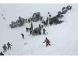 Rytų Turkijoje dviejų lavinų aukų padaugėjo iki 38