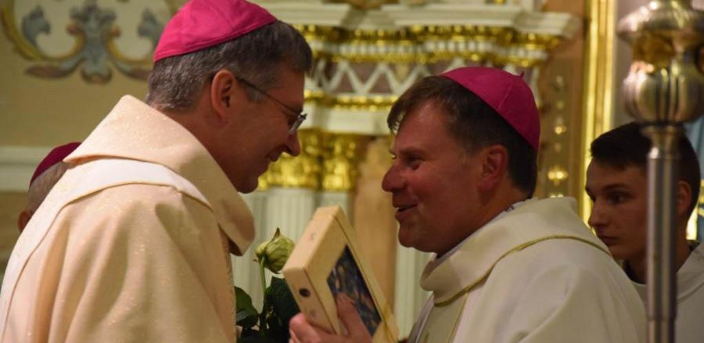 Vilniuje vyskupu pašventintas Darius Trijonis