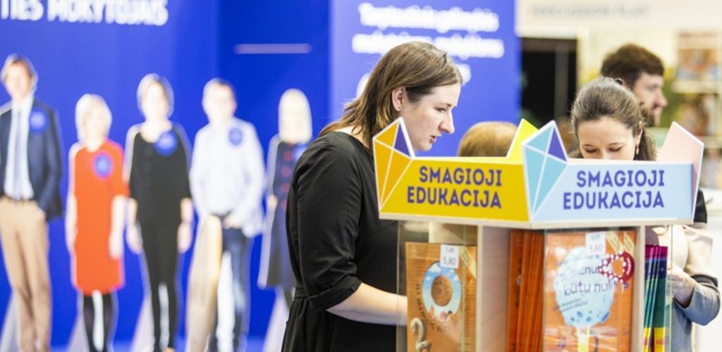 "Vilniuje prasideda švietimo inovacijų paroda ""Mokykla 2019"""