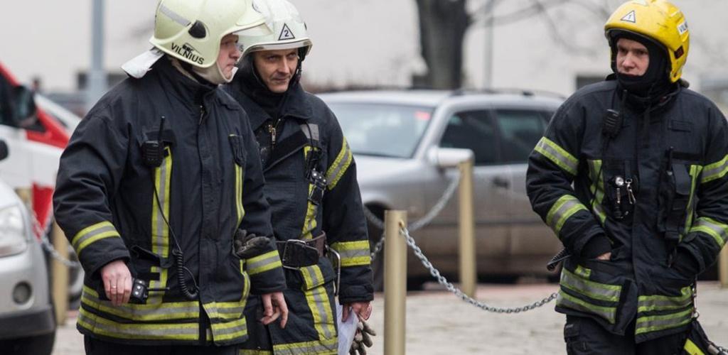 Savivaldybių ugniagesiai protestuos prie Vyriausybės