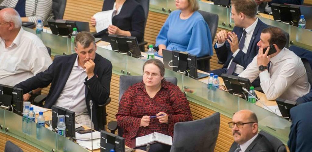 """Seimas imsis """"Sodros"""" ir PSDF biudžetų"""