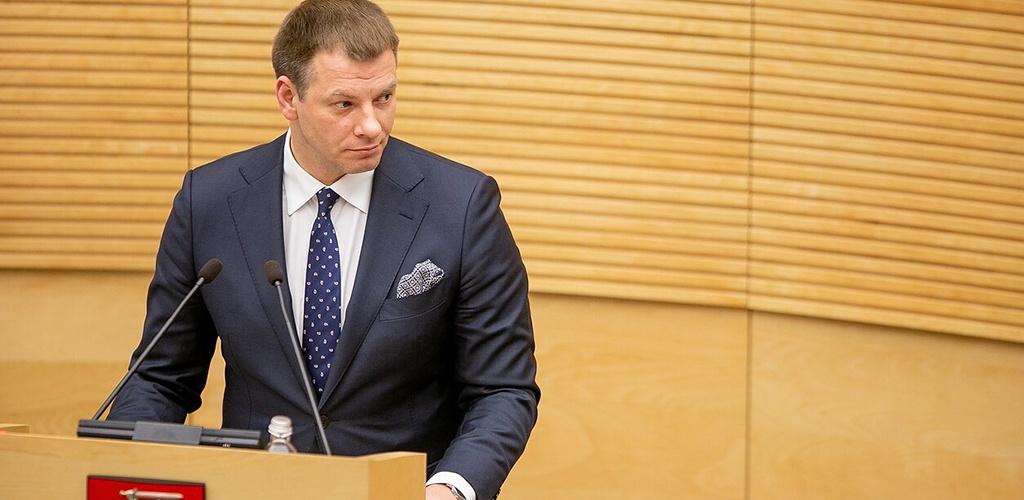 V. Šapoka Seime aiškinsis dėl būsimo biudžeto